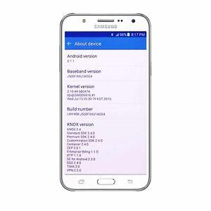 Samsung Galaxy J5 Dual SIM J500F Cell Android Mobile Phone Unlocked 8GB White UK