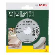 Bosch Diamond Tile Cutting Disc Blade 115mm Ceramic Tile