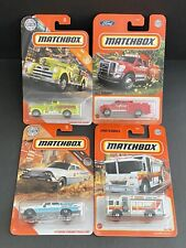 CP Matchbox Emergency Vehicles Lot Of 4pcs