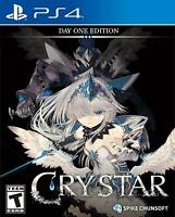Crystar Day One Edition Sony PS4 Rare JRPG Role Play Fighting Game Playstation 4