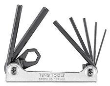 Teng Tools SUMMER SALE 7 Piece Folding Hex Allen Key Set 1.5mm - 6mm