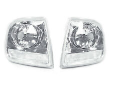 Depo Front Clear Corner Signal Lights Lamps For 97-03 Ford F150 / Expedition Svt