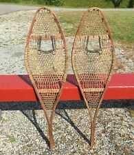 Great OLD SNOWSHOES 36x11 ANTIQUE Snow Shoes W@W!