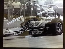 Kibitzer Ii Bob Sauer 8x10 Nhra circa 1966 dragster