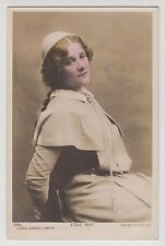 POSTCARD - Edna May, stage beauty, Edwardian theatre actress, in costume, tinted