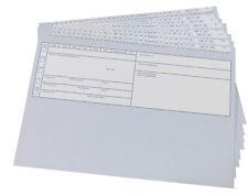 Patientenkarteikarten DIN A5 klappbar Karteikarten Praxiskarten - Grau o. Blau !
