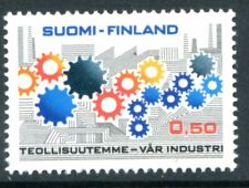 Finland Stamps Scott #503 Cogwheels 1971 Mlh