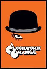 (FRAMED) CLOCKWORK ORANGE HAT MOVIE POSTER 96x66cm PRINT PICTURE HOME