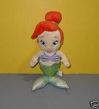 "16"" Disney's Babies Baby Ariel Little Mermaid Stuffed Plush Theme Park Edition"