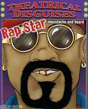 Men's Hip Hop Rapper Ali G Goatee Beard & Moustache Costume Accessory