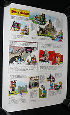 Prince Valiant Sunday Strip Color Poster w Original Tube - Celardo Estate - 1975