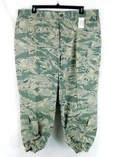 NWT Air Force CAMO Pattern Utility Cargo Pants Button Fly Men 44 Regular 26 Ins