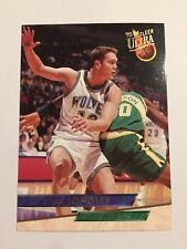 1993-94 Fleer Ultra NBA Basketball Card Minnesota Timberwolves 290 Luc Longley