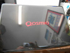 Qosmio X505 lid w/ Webcam Mic & Cable. Partial damage, Still Usable, READ, AS-IS