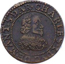 O2917 TRES RARE Charleville Charles Gonzague double tournois 1635 SPL ->M offer
