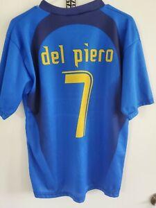Vintage Italy Allessandro Del Piero # 7 Futbol Soccer Jersey Size L