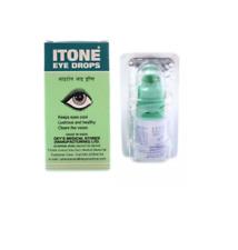 ITONE Eye Drops Herbal Ayurvedic Antibiotic Antiseptic Eye Drops I Tone 2 X10ml