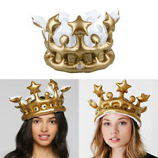 Kids Inflatable Birthday Cosplay Birthday Party Hats Crown Supplies Tools