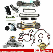 4.0L Ford Mazda Mercury SOHC V6 Engine Timing Chain Kit w/ Gears + Water Pump