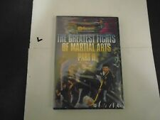 THE GREATEST FIGHTS OF MARTIAL ARTS PART II DVD NEW 090328301316