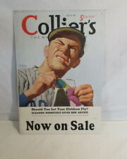 Colliers Magazine Advertising Poster Vintage Colliers Ad Baseball Player