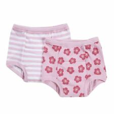 NEW 2 Pk Green Sprouts Girl's 18M Washable Potty Training Pants Underwear