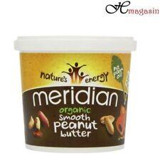 Meridian Organic Smooth Peanut Butter - 1kg