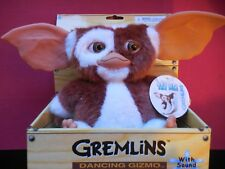 GREMLINS  -  DANCING GIZMO PLUSH DOLL - WITH SOUND   (NEW IN PACKAGE)