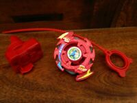 Beyblade Galzzly w/ Ripcord and Launcher - Hasbro 2002