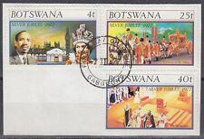 Botswana 1977 Θ Mi.179/81 Regentschaft Silver Jubilee Queen Elizabeth [sq7114]
