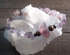 AURALITE 23 NATURAL CRYSTAL BRACELET SPIRIT GUIDE CONNECTION TO HIGHEST SELF