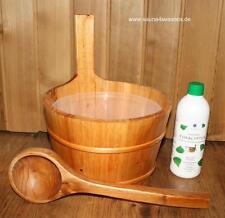 Sauna Pail Pouring Bucket Set Oil Accessories