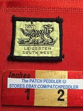 Small District Scout Badge Patch - Leicester South West England Patch 63JJ