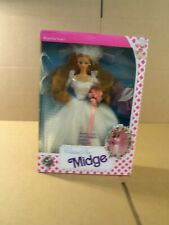 Wedding Day Midge Doll by Mattel (1990) NIB Beautiful Bride!