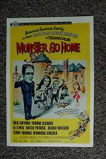 Munster Go Home Lobby Card Movie Poster Fred Gwynne __