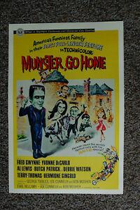 Munster Go Home Lobby Card Movie Poster Fred Gwynne ____