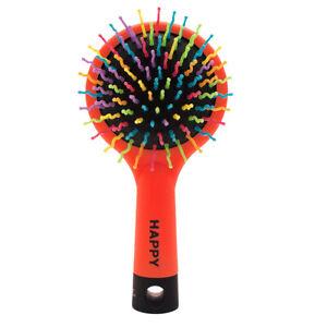 Mia Happy Brush Detangling Wet Hair Brush + Mirror for Happy Kids, Moms, Gift
