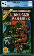 Giant-Size Man-Thing #1 CGC 9.2 Marvel 1974 Glob! White Pages! L5 356 cm