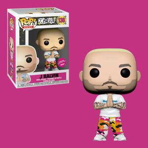 Limited Edition Exclusive Shipped w/ Protector Funko Pop Rocks J Balvin #136 new