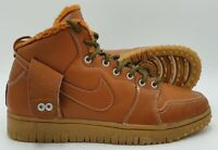 Nike Dunk Cmft WB Mid Leather Trainers 805995-201 Tawny Brown UK8/US9/EU42.5