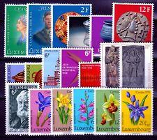Luxembourg jaar/ann 1976 MNH Yv = 24,70 Euro vo1061