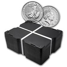 2017 500-Coin 1 oz Silver Britannia Monster Box BU