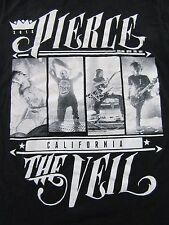 "PIERCE THE VEIL ""Collide With The Sky"" 2013 Metal Fan Black T Shirt Size S"