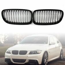 ABS Gloss Black Hood Front Kidney Grille Grill For BMW E90 328i 335i 4D 09-12 US