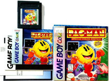 1999 NES NINTENDO GAMEBOY PAC-MAN SPECIAL COLOR EDITION GAME 100% COMPLETE BOX!