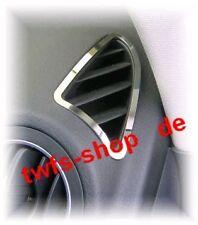 D VW Tiguan Chrom Rahmen für Lüftungsgitter - Armaturenbrett Edelstahl poliert