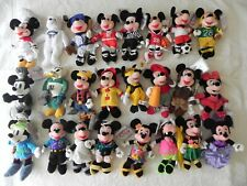 Disney Bean Bag Plush Sports and other Mickey, Minnie, Goofy, Booster U-Pick