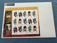 1999 US Commemorative Pane of 15 Scott 33 Cent American Glass MNH (#3325-3328)