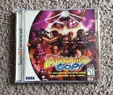 Dynamite Cop (Sega Dreamcast, 1999) Complete Rare