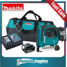 "Makita 18V LXT Li-Ion Cordless 3/8"" 10mm Crown Stapler Kit Combo XTS01 (BST221Z)"